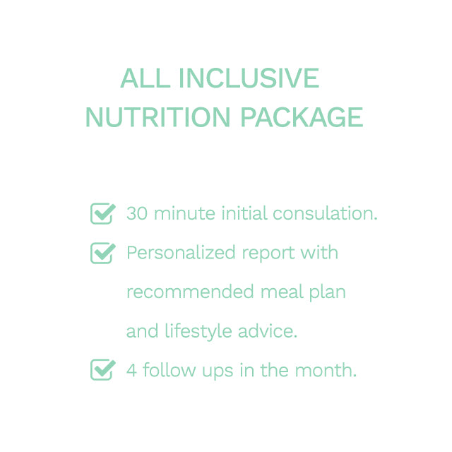 All Inclusive Nutrition Package
