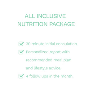 All Inclusive Nutrition Package - Eat Clean ME - Order Healthy Food Online - Meal Plans Dubai