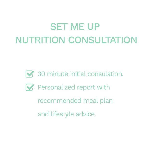 Set Me Up Nutrition Consultation (30mins Call + Personalized Analysis)