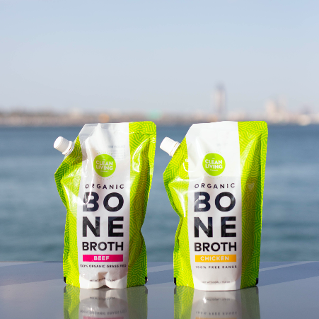 Free Range Chicken Organic Bone Broth (3 Pouches-500ml Each) - Eat Clean ME - Order Healthy Food Online - Meal Plans Dubai
