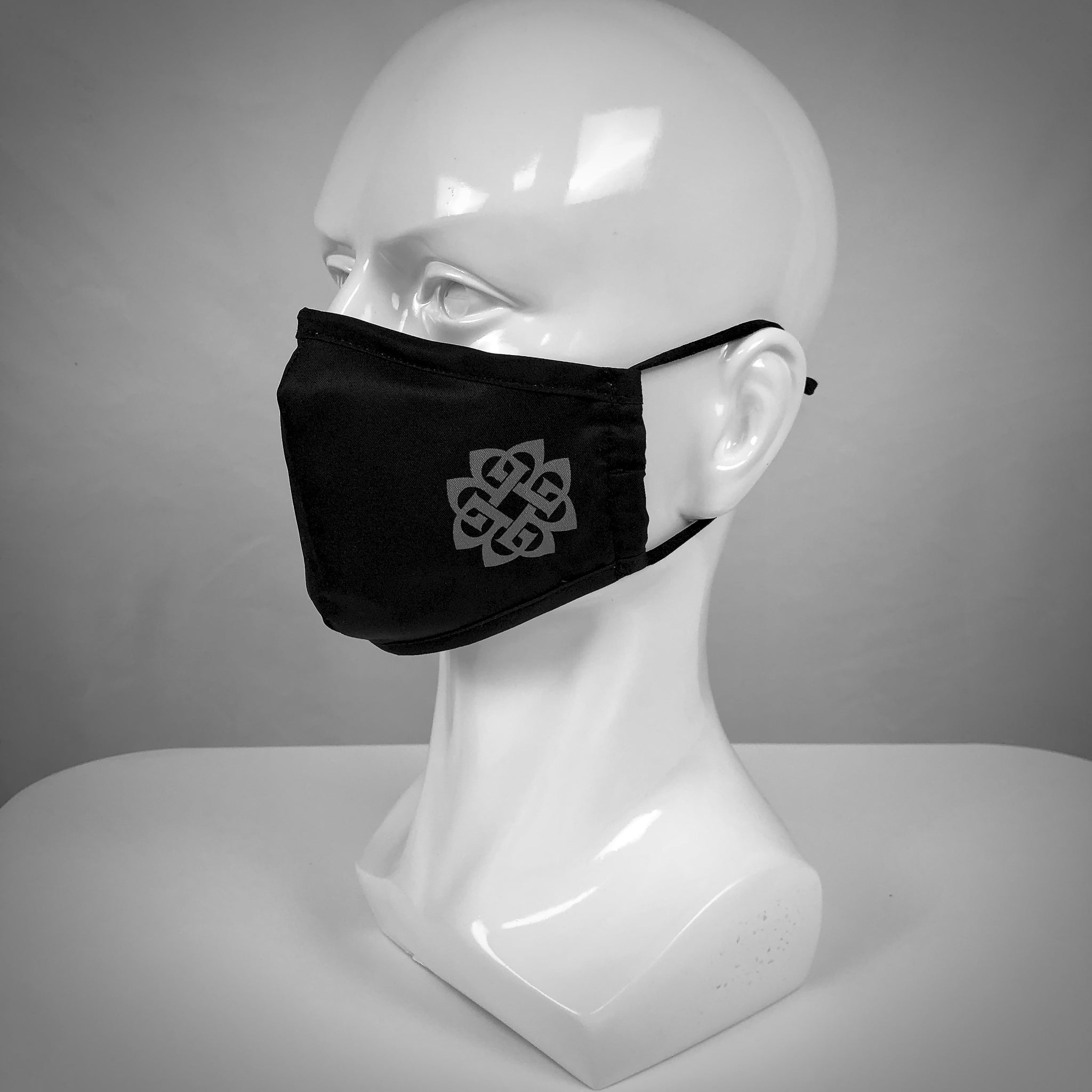 Adjustable Mask - Corner Logo