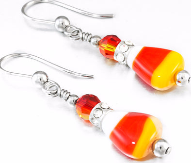 corn_candy_Crystal_halloween_fall_autumn_earrings