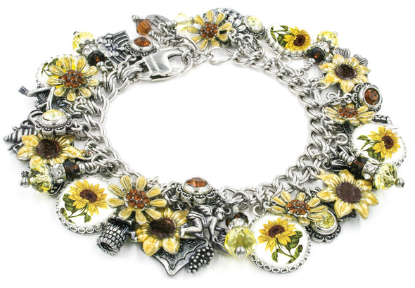 sunflower jewelry