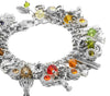 Silver Fall Jewelry - Autumn Bracelet - The Autumn Rainbow