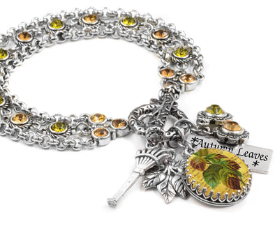 autumn_leaves_leaf_charm_bracelet