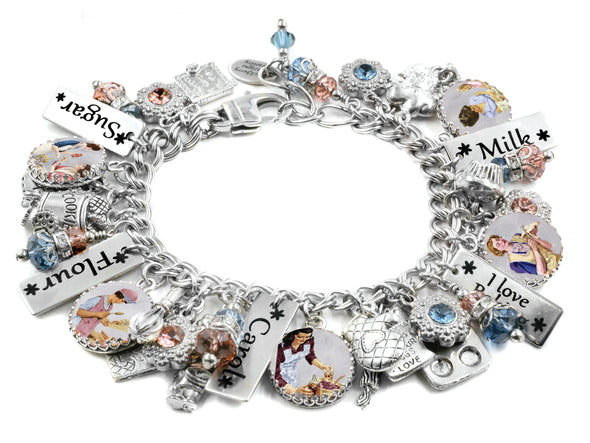 I love to Bake Charm Bracelet