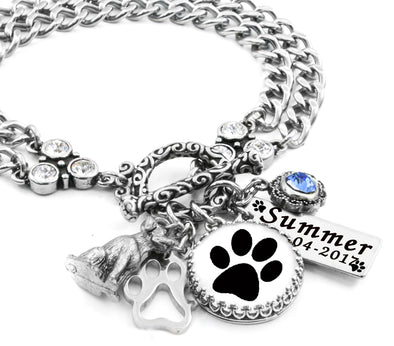 dog paw print jewelry