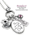handwriting jewelry personalized