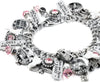 Real Haunted House Charm Bracelet