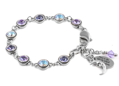 Moonlight Swarovski Crystal Bracelet