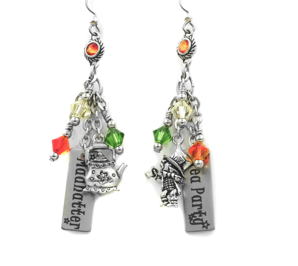 mad hatter earrings