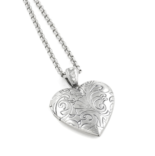 Victorian Style Heart Locket