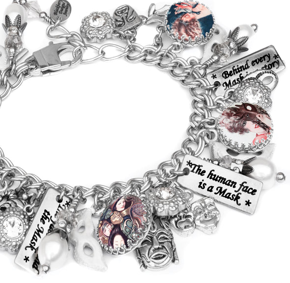 Face Behind the Mask Bracelet