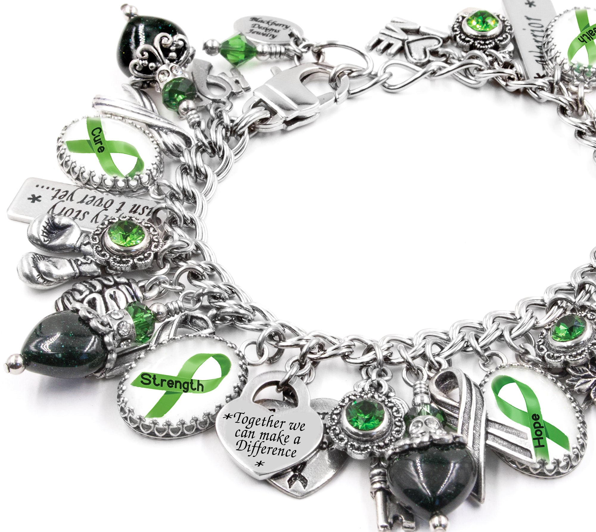 kidney disorder awareness mental cerebral bipolar pin palsy jewelry support health depression bracelet cancer