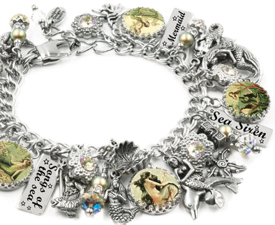 Sirens of the Sea, Mermaid Charm Bracelet