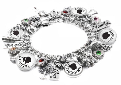 personalized mothers day bracelet
