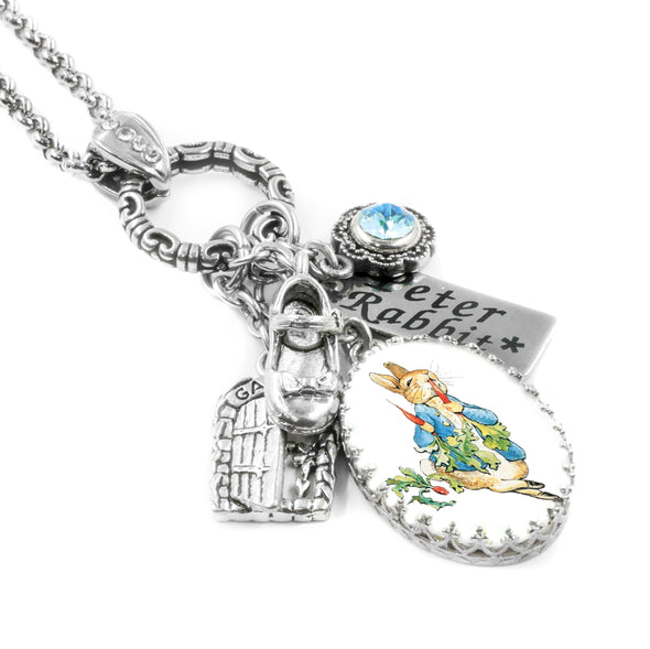 peter rabbit gift, jewelry, necklace