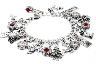 ruldoph red nosed reindeer bracelet