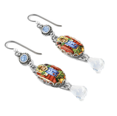 Scarecrow Thanksgiving Earrings
