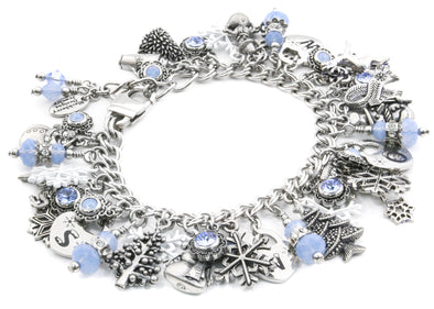 winter wonderland snowflake bracelet