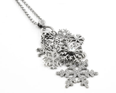 Enchanted Snowflake Necklace