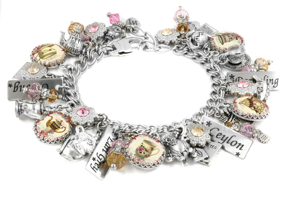 The English Tea Charm Bracelet