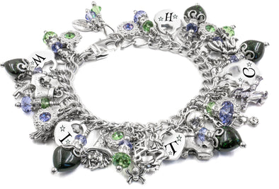 Green Witch Charm Bracelet