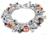 USA and 4th of July Bracelet