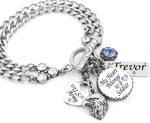 military_charm_bracelet_marines_navy_airforce