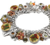 Autumn Leaves Charm Bracelet