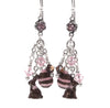 Chocolate Bunny Earrings for Rabbit Lovers