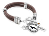 Dog Womens leather bracelet
