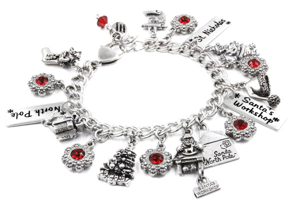 Santa Workshop Charm Bracelet