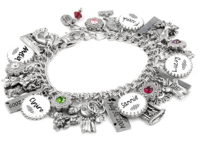 personalized handwriting bracelet children