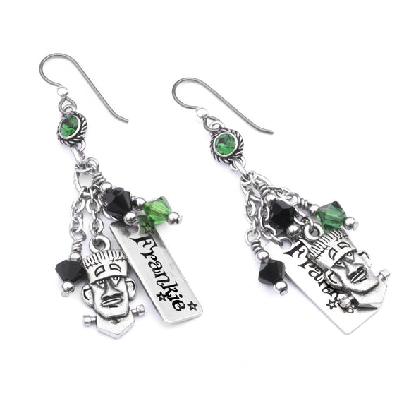 frankenstein monster earrings halloween