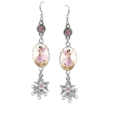 sugar plum earrings fairy