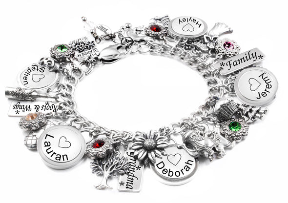 childrens name bracelet