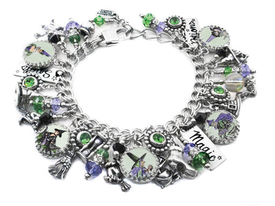 wicked witch of the west charm bracelet