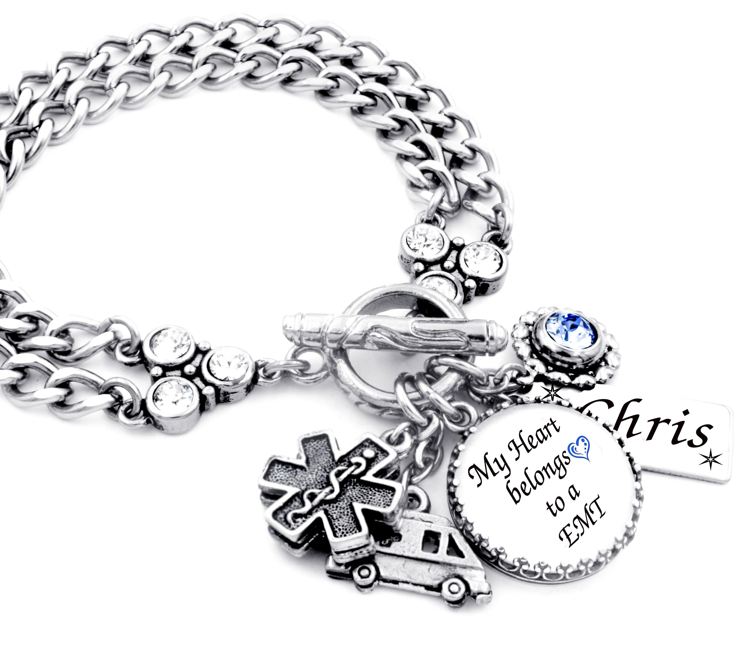 emergency medical technician bracelet