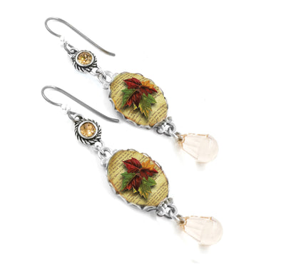 Maple Leaves Autumn Earrings