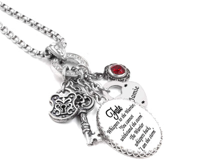 fate charm necklace I am the storm