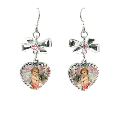 cupid earrings for valentines day