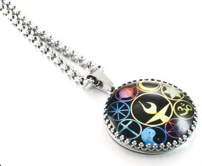 world religion necklace