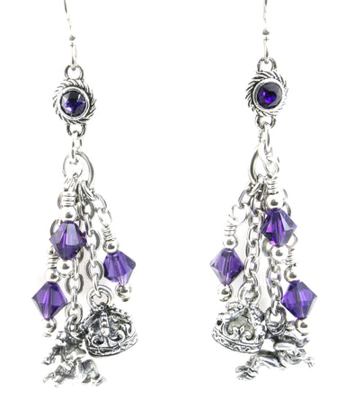12 days of christmas earrings lords a leaping