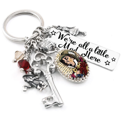 mad hatter key chain