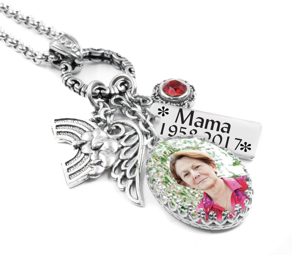 memorial keepsake necklace