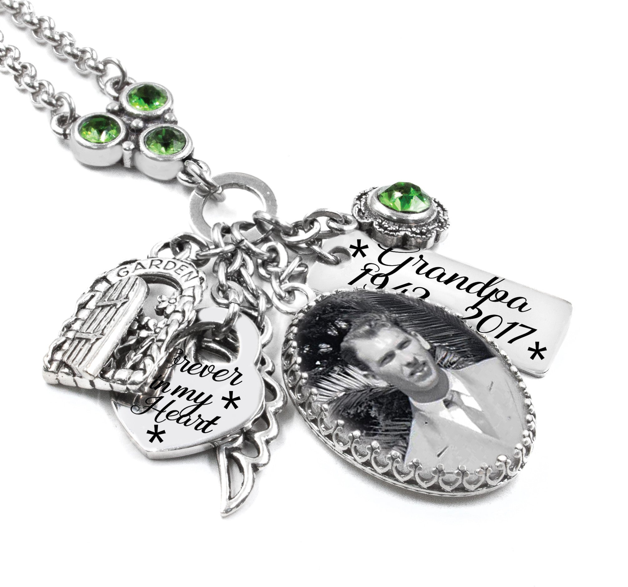 charm angel amazon dp urn his in with wing memorial arms keepsake amist jewelry crystal cremation has necklace com april birthstone you by god
