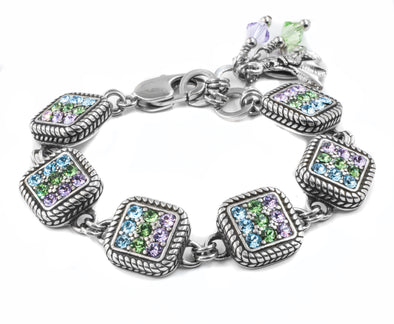 crystal mermaid bracelet