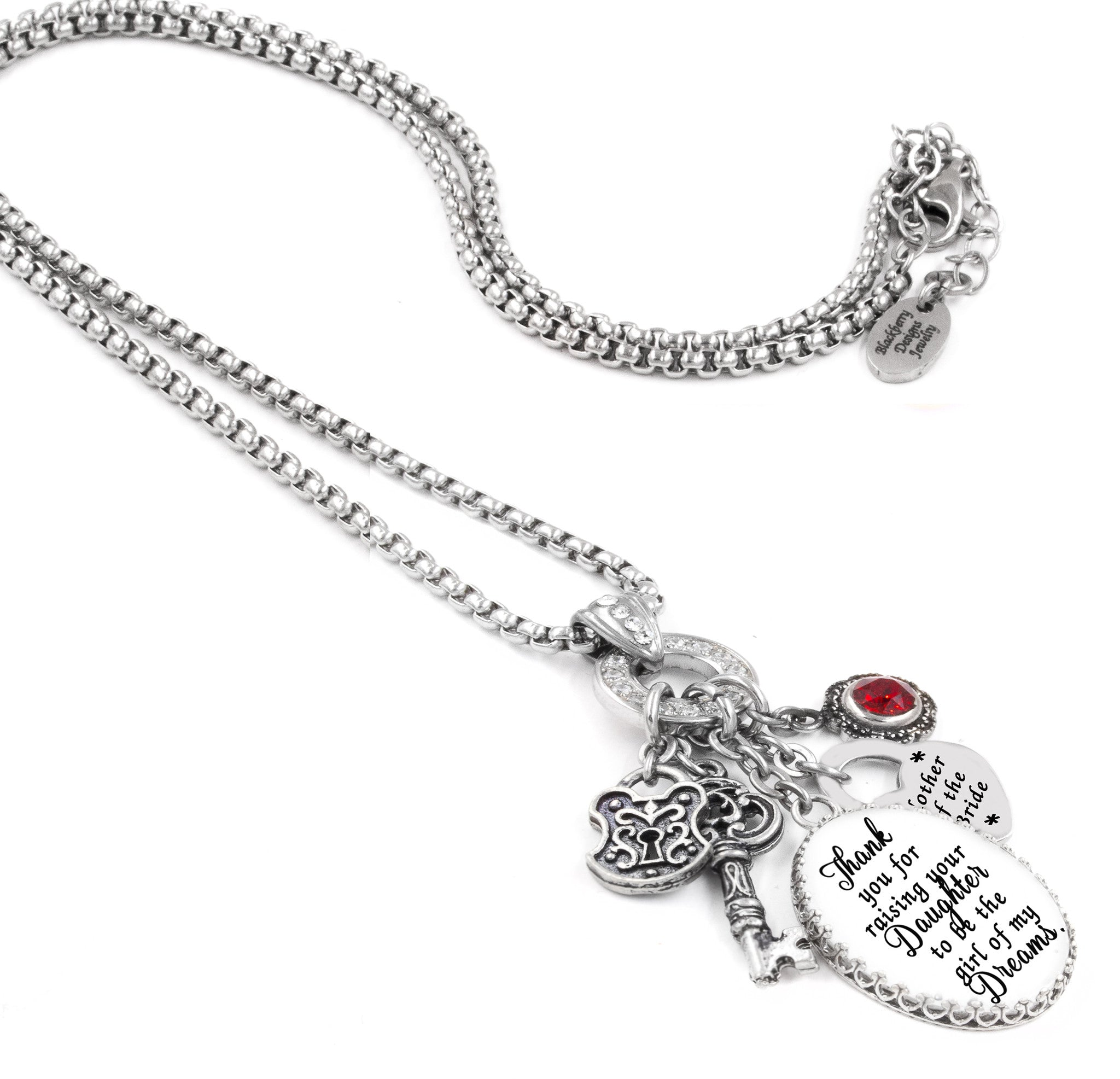 Mother Of The Bride Jewelry: Mother Of The Bride Necklace, Mother In Law Necklace