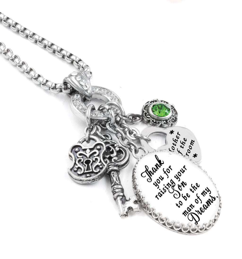 Mother of the Groom Charm Necklace